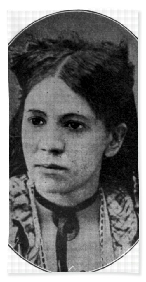 Education Hand Towel featuring the photograph Fanny Jackson Coppin, African-american by Photo Researchers
