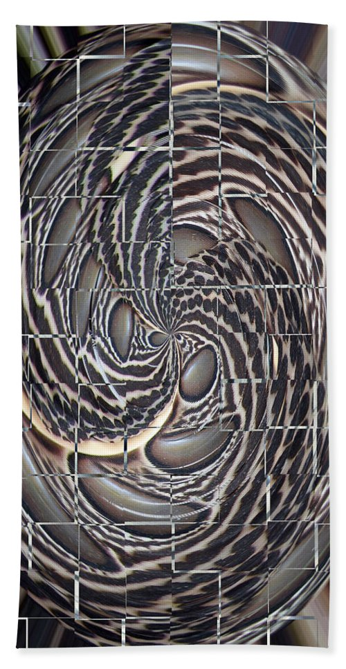 Swirl Hand Towel featuring the photograph Feather Swirl by Darleen Stry