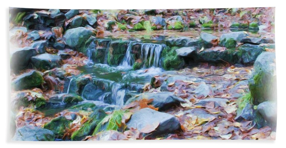 Yosemite Hand Towel featuring the photograph Fern Spring In Autumn by Heidi Smith