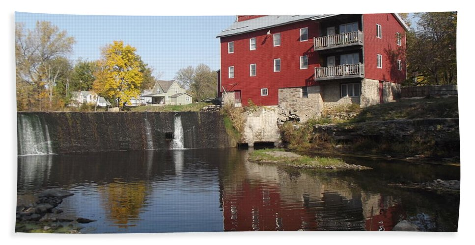 Mill Hand Towel featuring the photograph Fertile Mill by Bonfire Photography