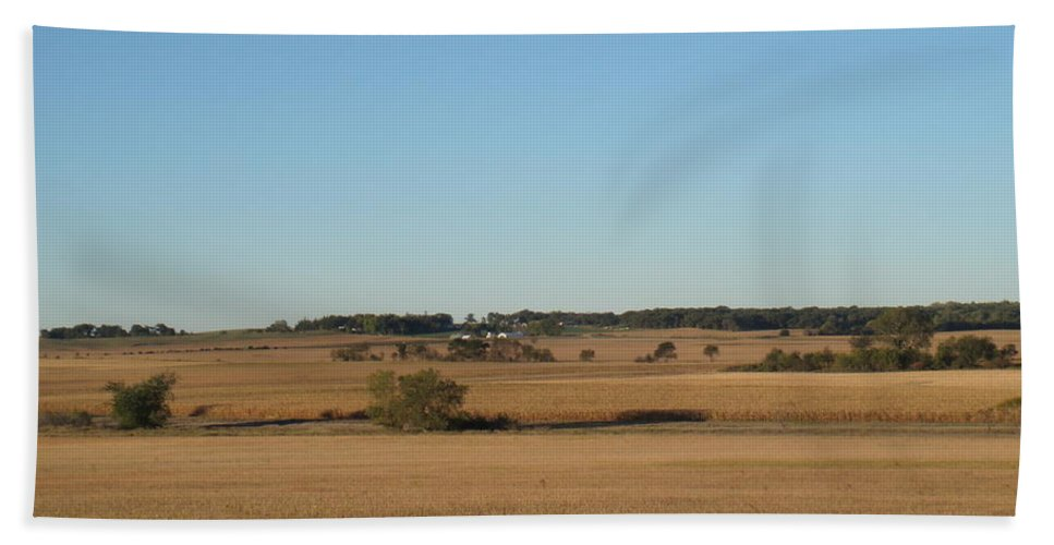 Fields Hand Towel featuring the photograph Field Of Dreams by Bonfire Photography