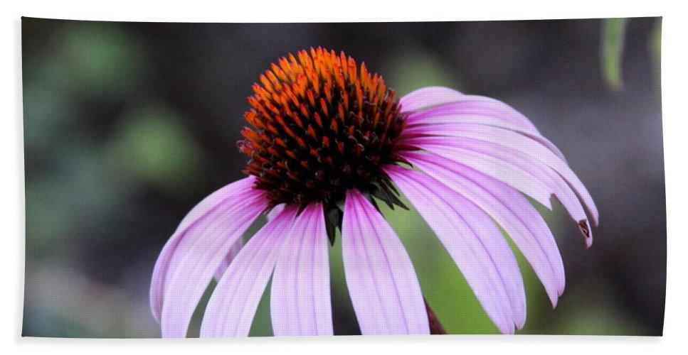 Flower Bath Sheet featuring the photograph Fire Flower by Travis Truelove