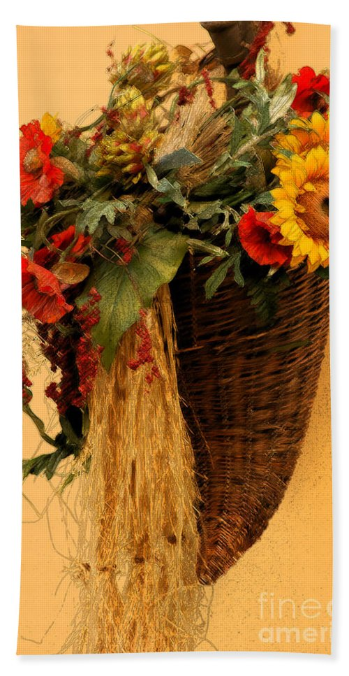 Floral Bath Sheet featuring the photograph Floral Horn Of Plenty by Mike Nellums