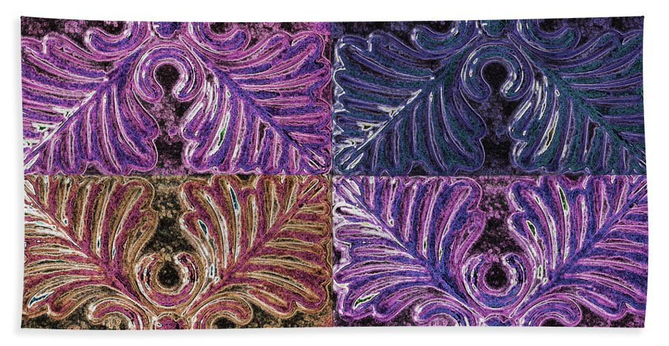 Wall Art Bath Sheet featuring the photograph Four Times Four IIi by Debbie Portwood