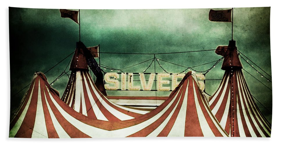 Circus Bath Sheet featuring the photograph Freak Show by Andrew Paranavitana