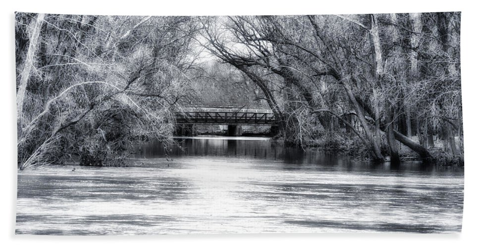 French Creek Bath Sheet featuring the photograph French Creek by Bill Cannon