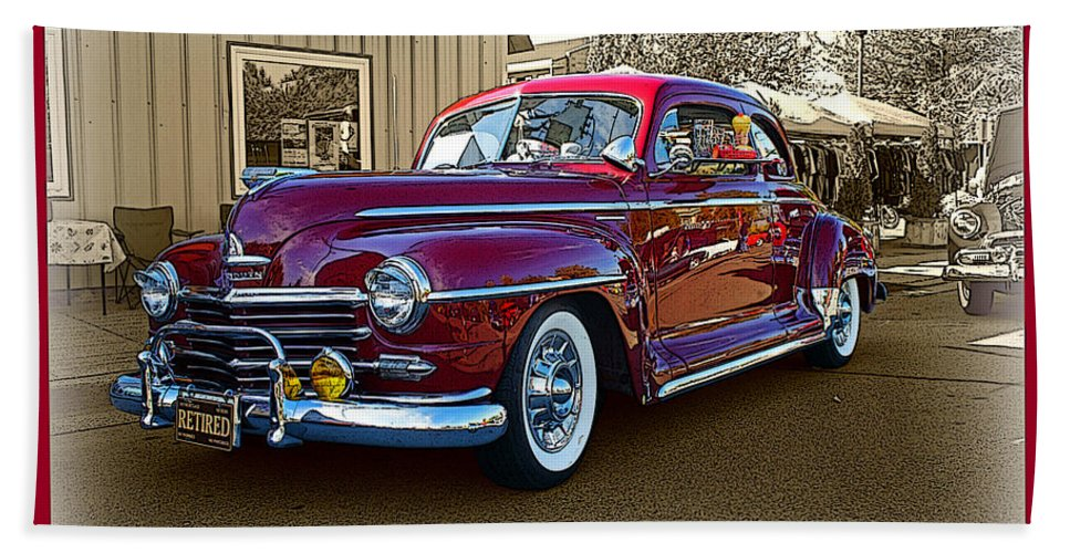 Cars Bath Sheet featuring the photograph From Past Times by Randy Harris