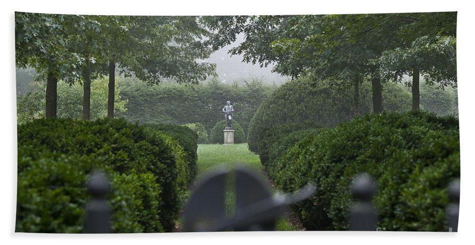 Delaware Bath Sheet featuring the photograph Garden Gate by John Greim