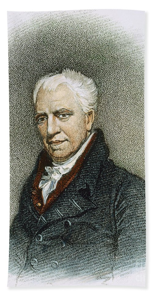 1819 Bath Sheet featuring the photograph George Crabbe (1754-1832) by Granger