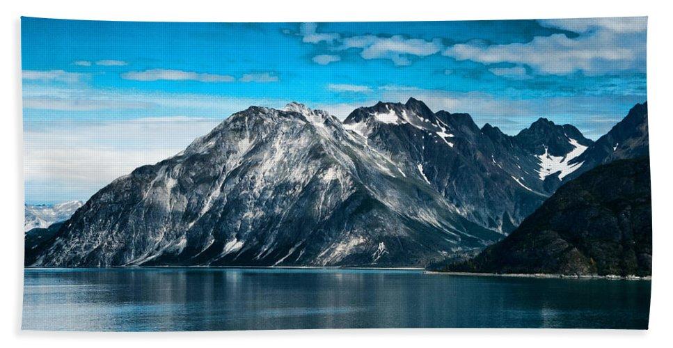 Glacier Bay Alaska Bath Sheet featuring the photograph Glacier Bay Alaska by Jon Berghoff