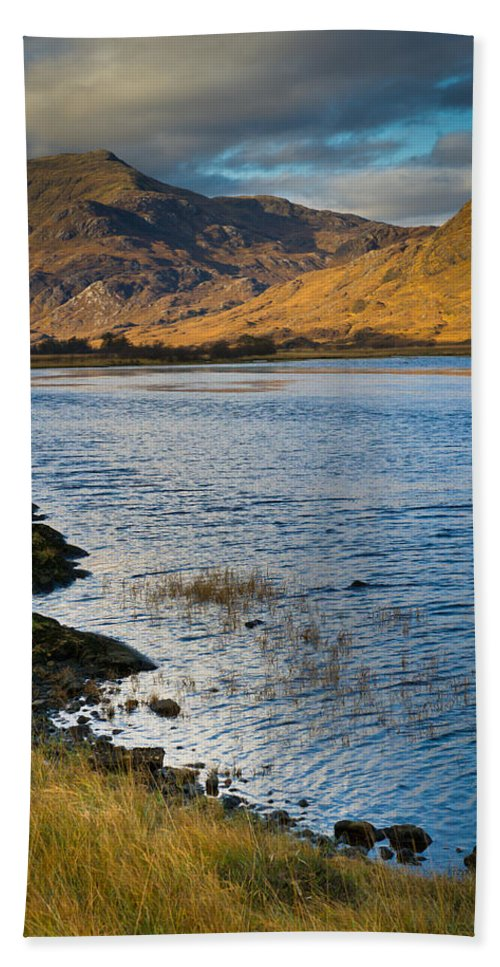 Glen Gour Bath Sheet featuring the photograph Glen Gour View by Gary Eason