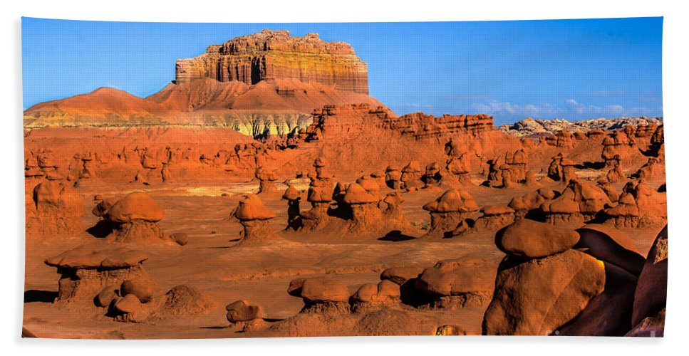 Green River Bath Sheet featuring the photograph Goblin Valley State Park by Robert Bales