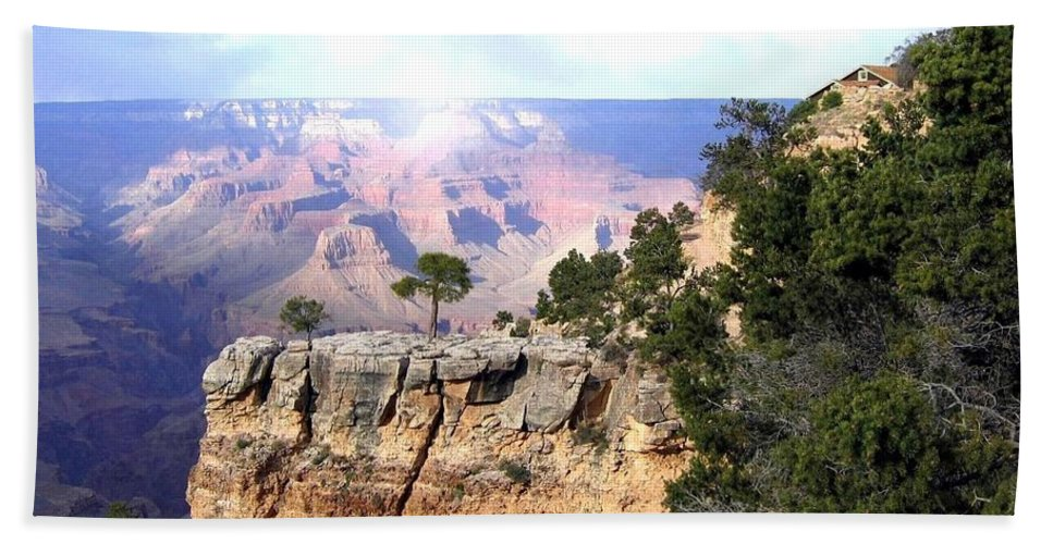 Grand Canyon Bath Sheet featuring the photograph Grand Canyon 51 by Will Borden