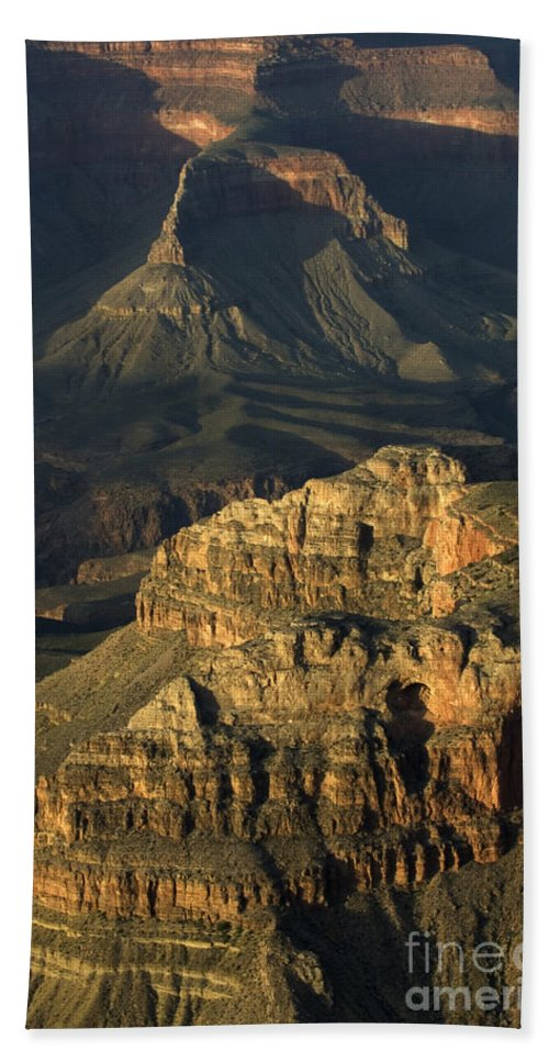 Hand Towel featuring the photograph Grand Canyon by Bob Christopher