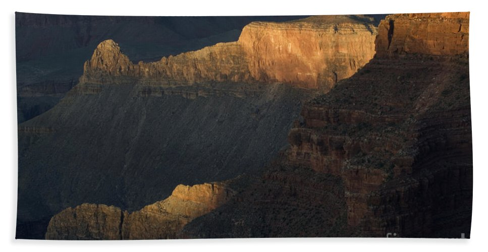 Grand Canyon Bath Sheet featuring the photograph Grand Canyon Vignette 1 by Bob Christopher