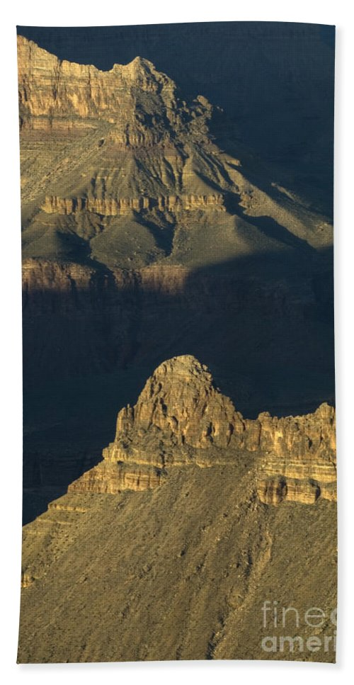 Grand Canyon Bath Sheet featuring the photograph Grand Canyon Vignette 2 by Bob Christopher