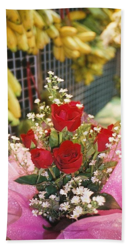 Happy Valentine's Day Bath Sheet featuring the photograph Happy Valentine's Day From Thailand by Mr Photojimsf