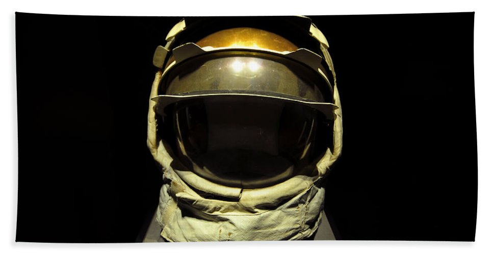 Fine Art Photography Bath Sheet featuring the photograph Head Of Apollo by David Lee Thompson