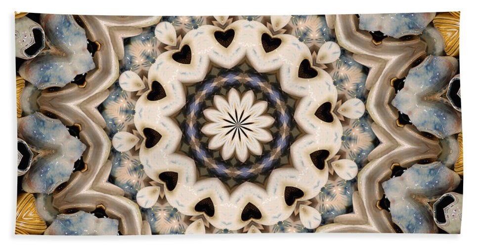 Hearts Bath Sheet featuring the photograph Hearts by Trish Tritz