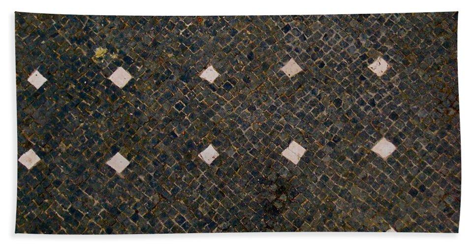 Herculaneum Bath Sheet featuring the photograph Herculaneum Floor by Eric Tressler