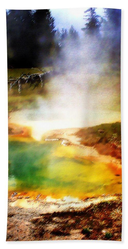 Landscape Bath Sheet featuring the photograph Hidden Gem by Ellen Heaverlo