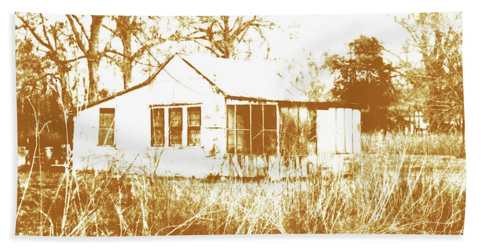 Camp Bath Sheet featuring the digital art Home Place by Lizi Beard-Ward