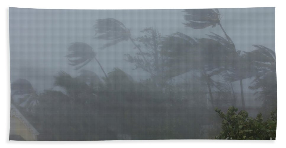 Hurricane Irene Hand Towel featuring the photograph Hurricane Irene by Jim Edds and Photo Researchers