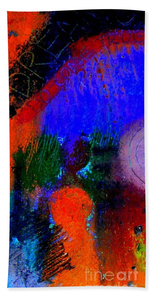 Women Hand Towel featuring the painting I Still Dream by Angela L Walker