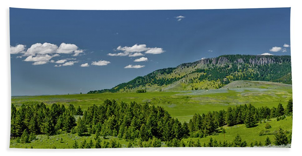 Americas Bath Sheet featuring the photograph Ibex Peak by Roderick Bley