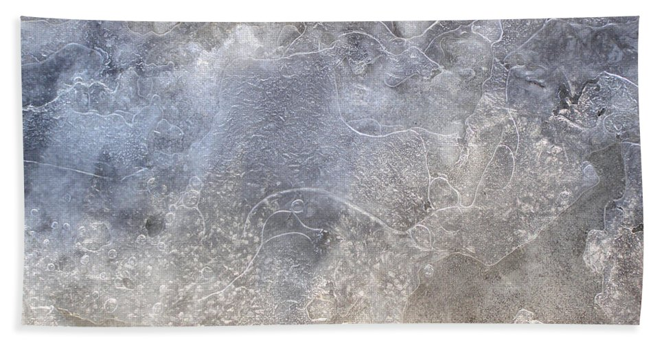 Ice Bath Sheet featuring the photograph Ice by Angie Rea