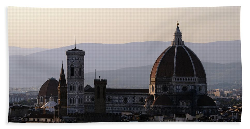 Italy Bath Sheet featuring the photograph Il Duomo by La Dolce Vita
