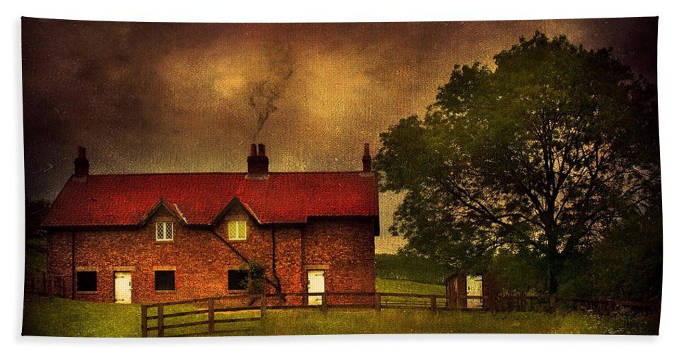 Art Bath Sheet featuring the photograph In A Village by Svetlana Sewell