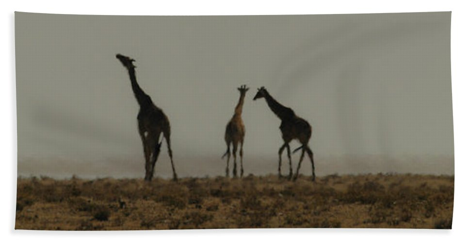 Action Hand Towel featuring the photograph In The Heat by Alistair Lyne