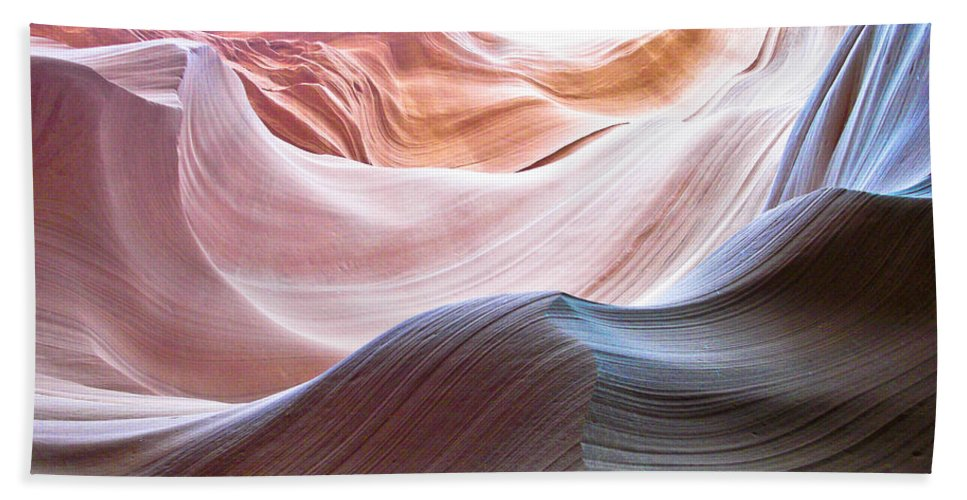Ralf Hand Towel featuring the photograph Inside Lower Antelope Canyon by Ralf Kaiser