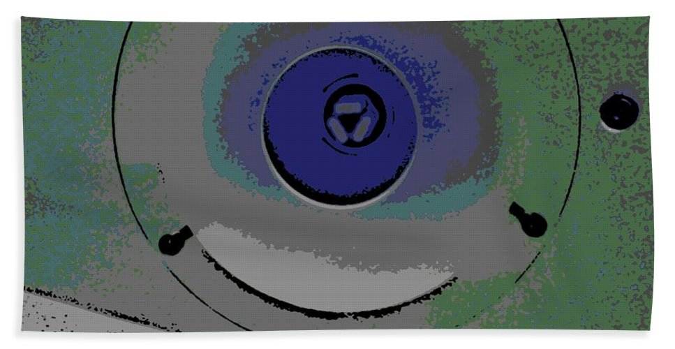 Abstract Hand Towel featuring the photograph Ionization by George Pedro