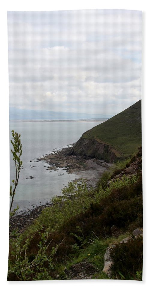 Coast Bath Sheet featuring the photograph Ireland Coast I by Christiane Schulze Art And Photography