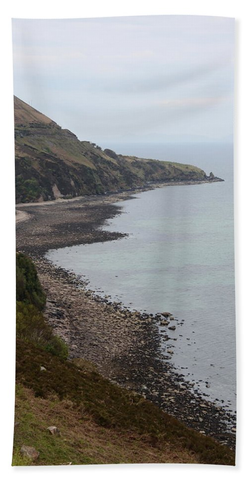 Sea Bath Sheet featuring the photograph Ireland Seacoast by Christiane Schulze Art And Photography