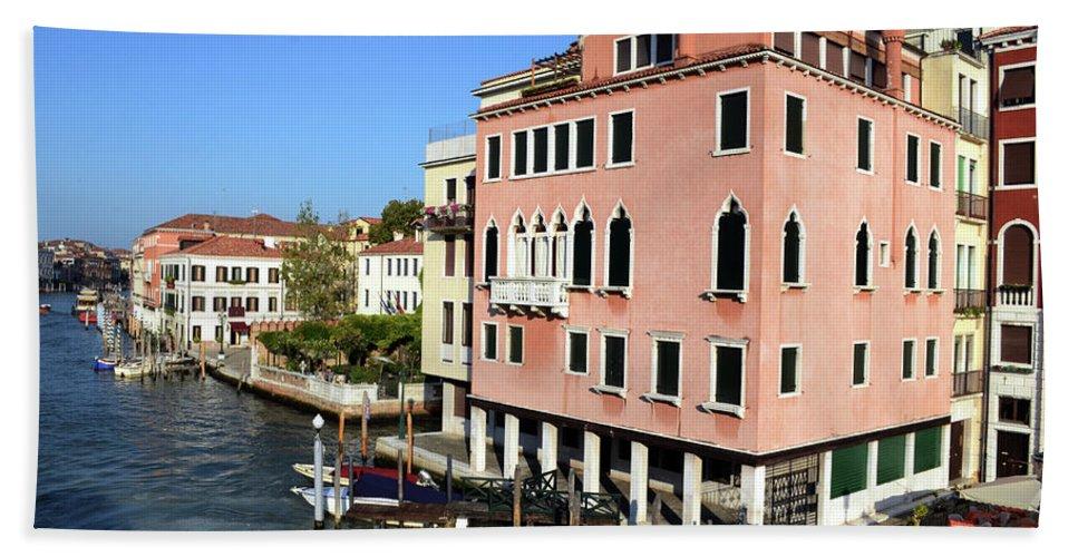 Landscape Bath Sheet featuring the photograph Italian Views by La Dolce Vita