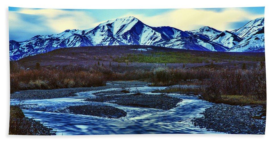 Alaska Bath Sheet featuring the photograph Jenny Creek Dawn by Rick Berk