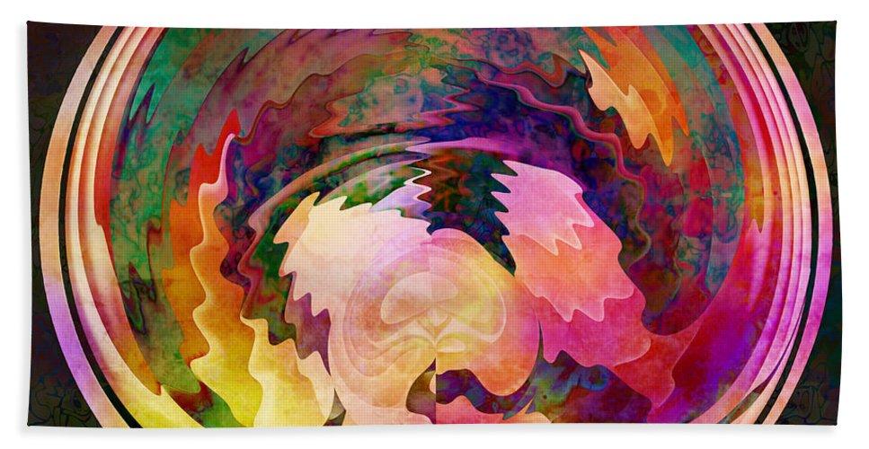 Joy Bath Sheet featuring the digital art Joy by Barbara Berney