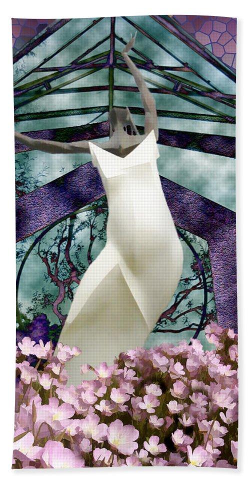 Floral Bath Sheet featuring the photograph Jubilation by Kurt Van Wagner