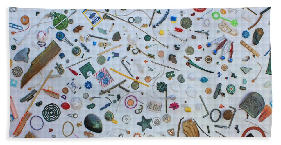 Las Vegas Nv Hand Towel featuring the mixed media Just A Walk In The Park by Carl Deaville
