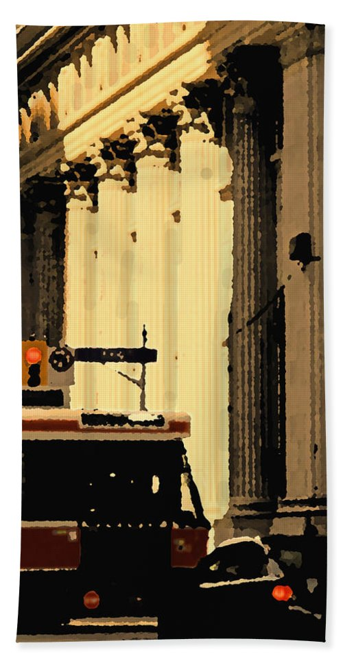 King Car Hand Towel featuring the photograph King Car by Ian MacDonald