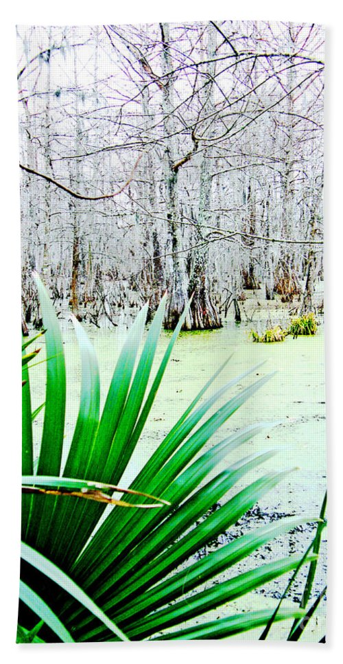 Swamp Hand Towel featuring the photograph Lake Martin Swamp View by Lizi Beard-Ward