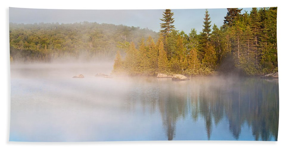 America Hand Towel featuring the photograph Laurentides by Mircea Costina Photography