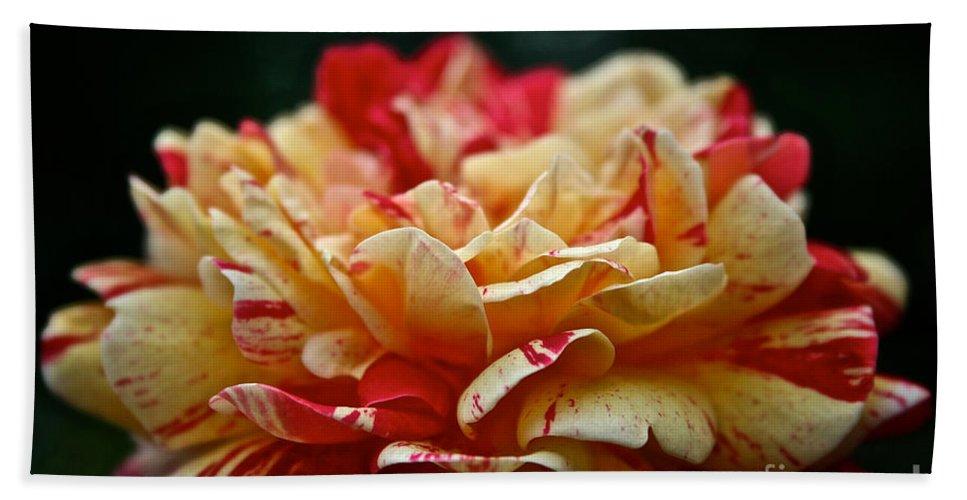 Garden Bath Sheet featuring the photograph Lemon Cherry Chip by Susan Herber