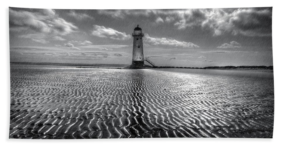Lighthouse Bath Sheet featuring the photograph Lighthouse by Mal Bray