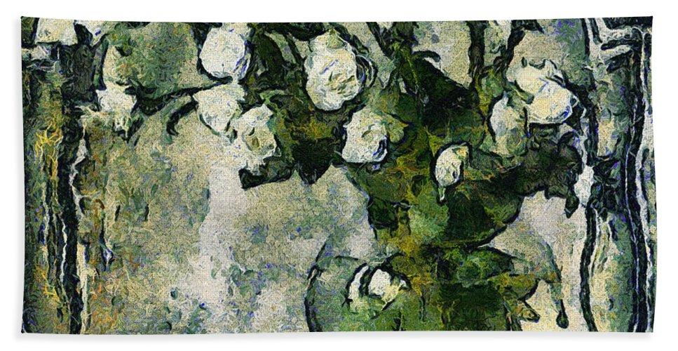 long Forgotten Hand Towel featuring the Long Forgotten by Georgiana Romanovna