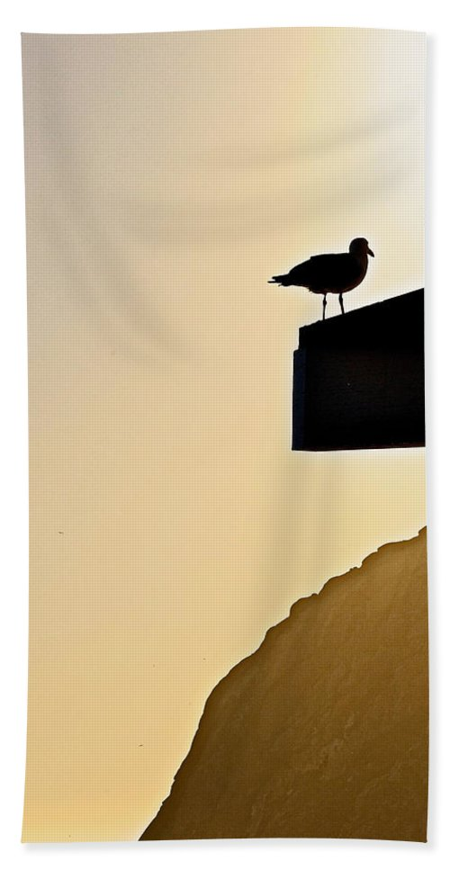 Lookout Hand Towel featuring the photograph Lookout II by Bill Owen