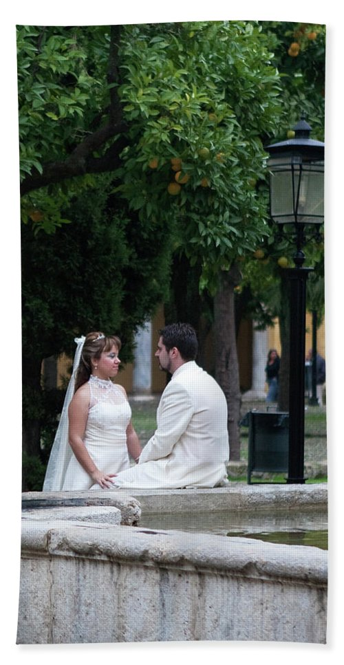 Cordoba Bath Sheet featuring the photograph Love Sweet Love by Lorraine Devon Wilke